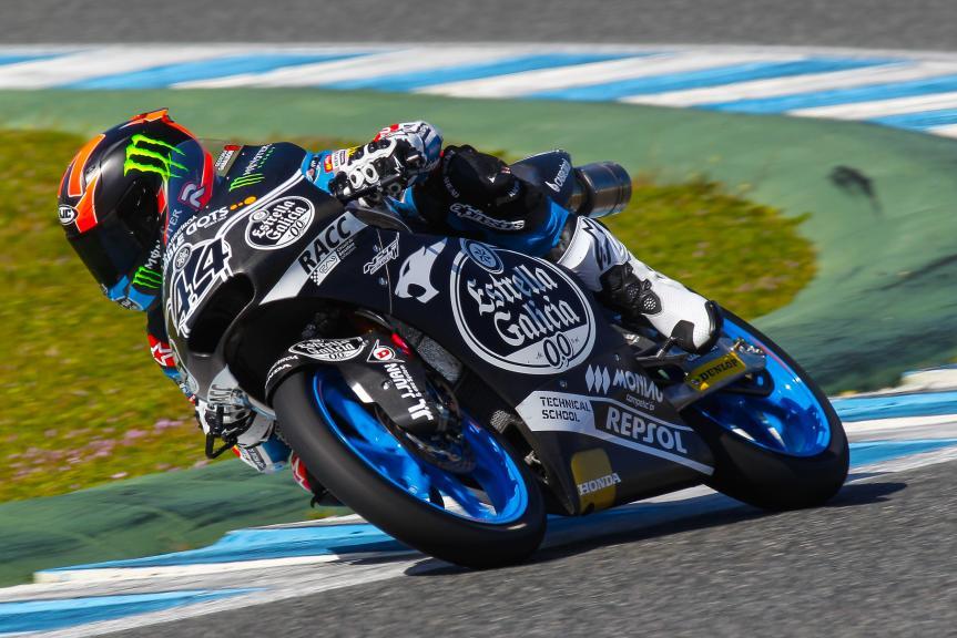 Aaron Canet, Jerez Moto2 - Moto3 Official Test
