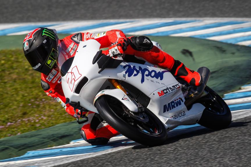 Francesco Bagnaia, Aspar Mahindra Team Moto3, Moto2™ Moto3™ Official Test Jerez