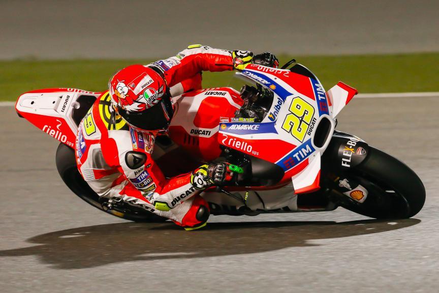 Andrea Iannone, Ducati Racing Team, Qatar MotoGP Official Test