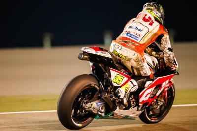 "Crutchlow: ""The bike flipped over and landed on top of me"""