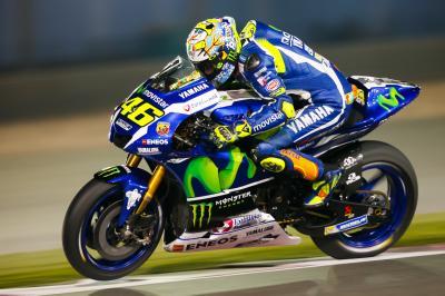 Rossi: «Lo importante era la simulación de carrera»