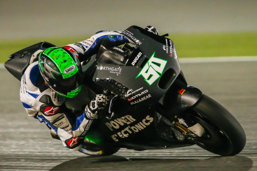 Eugene Laverty, Aspar MotoGP Team, Qatar MotoGP Official Test