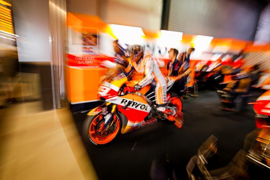 Marc Márquez, Repsol Honda Team, Qatar MotoGP Official Test