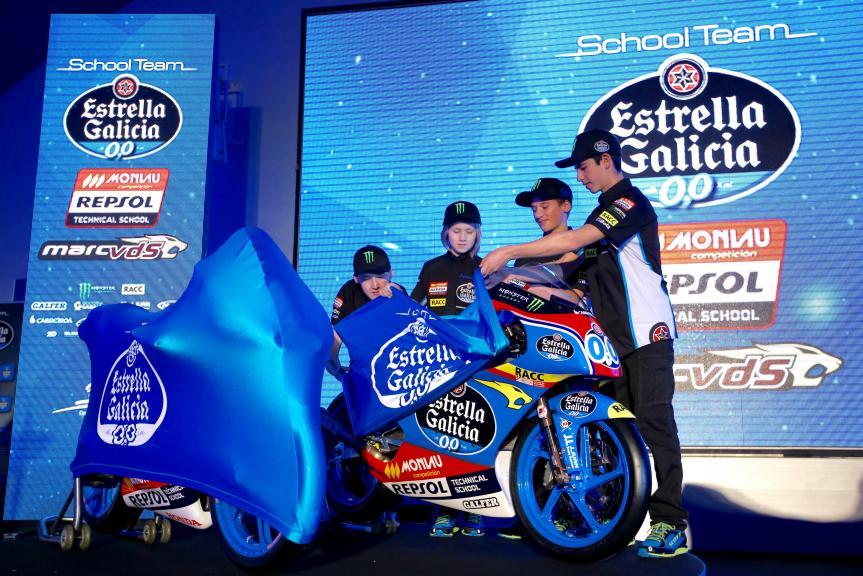Presentation sports projects Estrella Galicia 0,0 - 2016
