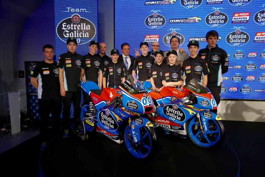 Presentation sports projects Estrella Galicia 0,0 - 2016