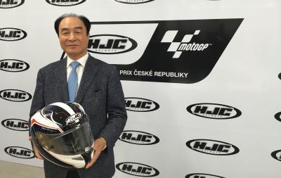 ヘルメットメーカーのHJCがチェコGPを支援