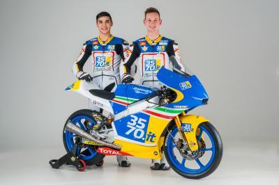Il 3570 Team Italia Moto3™ c'è, continua la tradizione