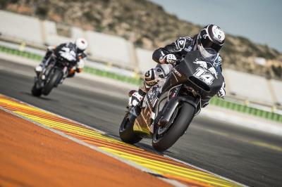 KTM boucle une nouvelle session d'essais à Valence