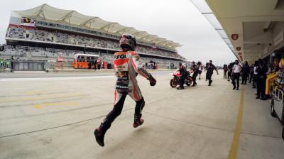 #QatarCountdown: Marquez's Austin pole rush
