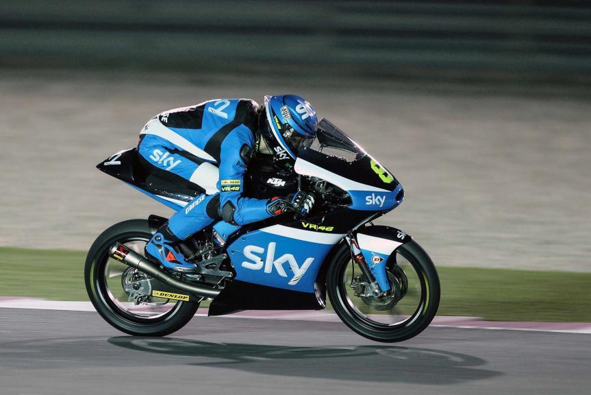 Nicolo Bulega, SKY Racing Team VR46,  Qatar Moto2-Moto3 Official Test