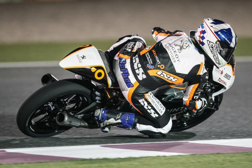 John Mcphee, Peugeot Saxoprint Motocycles, Qatar Moto2-Moto3 Official Test