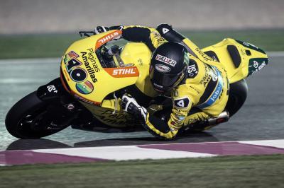 Rins inicia con el mejor tiempo el test de Moto2™ en Qatar
