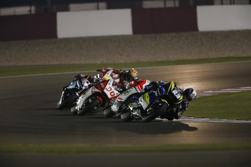 Marcel Schrotter and Takaaki Nakagami, Agr Team and Idemitsu Honda Team Asia, Commercial Bank Grand Prix of Qatar
