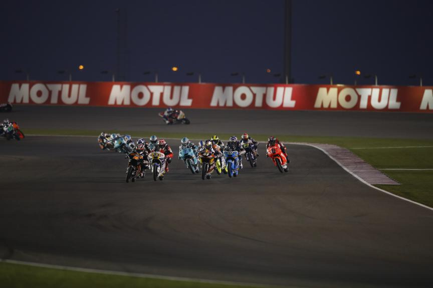 Moto 3 Action, Commercial Bank Grand Prix of Qatar