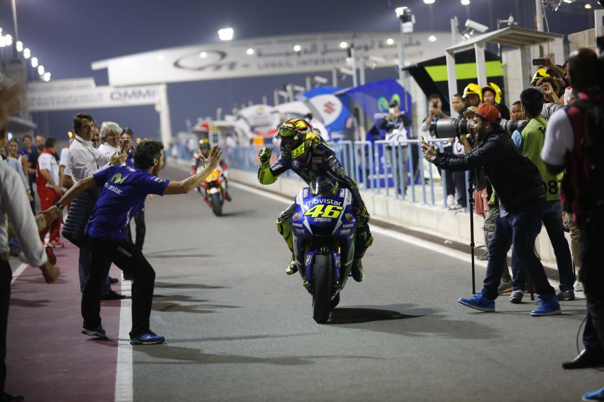 Valentino Rossi, Movistar Yamaha Moto GP, Commercial Bank Grand Prix of Qatar