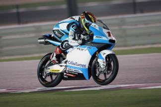 Loi, el más rápido del segundo día de test oficial en Moto3™