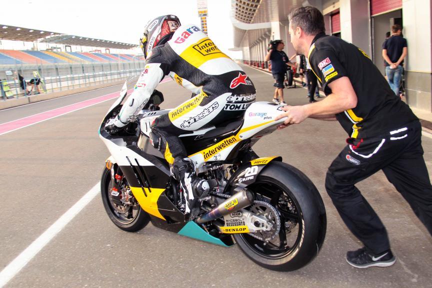Thomas Luthi, Garage Plus Interwetten, Qatar Moto2-Moto3 Official Test