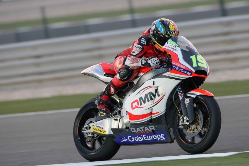 Test Qatar Moto 2
