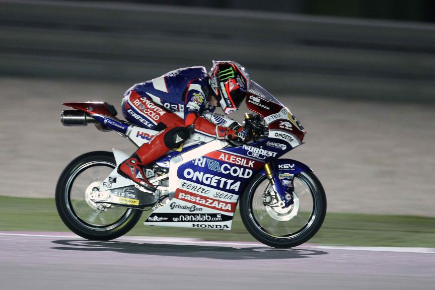 Test Qatar Moto 3