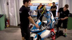 A round up of all the action from day two of the Moto3™ test in Qatar.