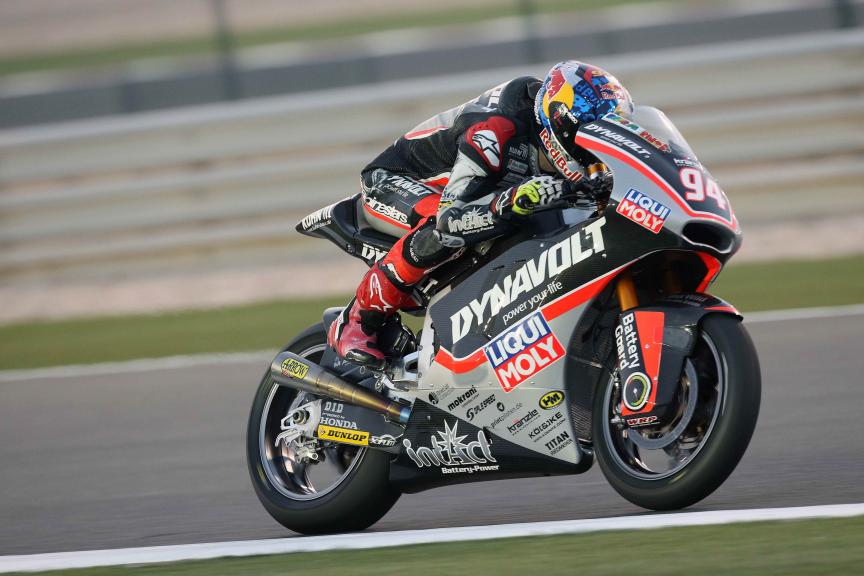 Jonas Folger, Dynavolt Intact Gp, Qatar Moto2-Moto3 Official Test