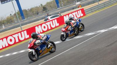 Ai Ogura takes first win of the season in Buriram