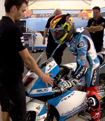 Highlights from Day 2 of the Moto3™ #QatarTest