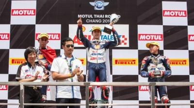 Race 1 highlights from 2016 Shell Advance Asia Talent Cup