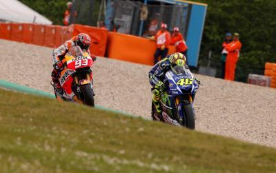 #QatarCountdown : Le duel Rossi vs Márquez à Assen