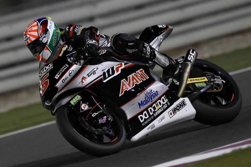 Johann Zarco, Ajo Motorsport, Qatar Moto2-Moto3 Official Test