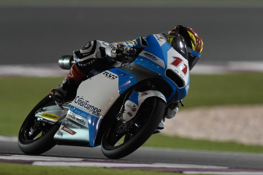 Livio Loi, RW Racing GP BV, Qatar Moto2-Moto3 Official Test