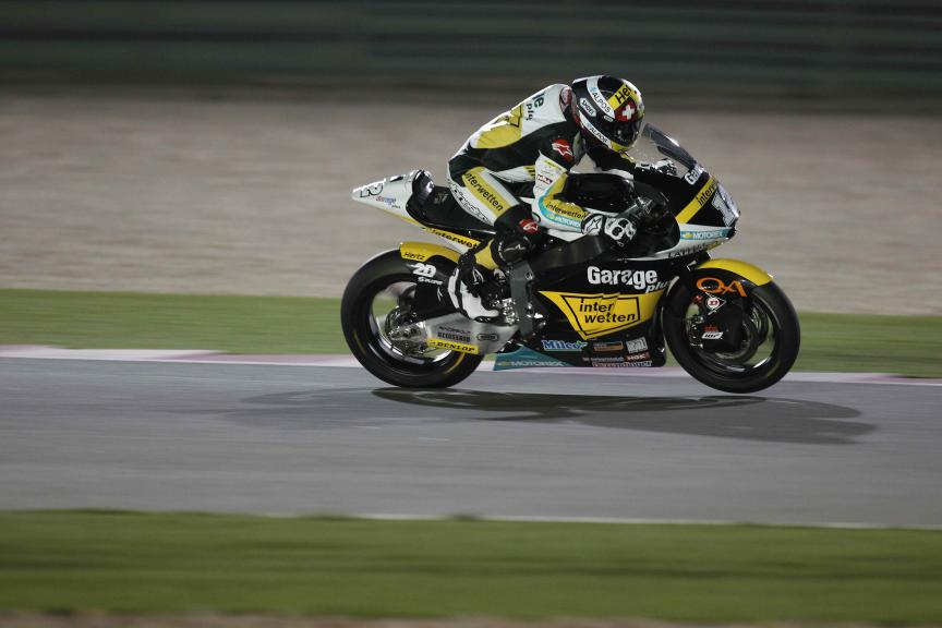 Thomas Luthi, Garage Plus Interwetten, Qatar Moto2-Moto3 Official Test