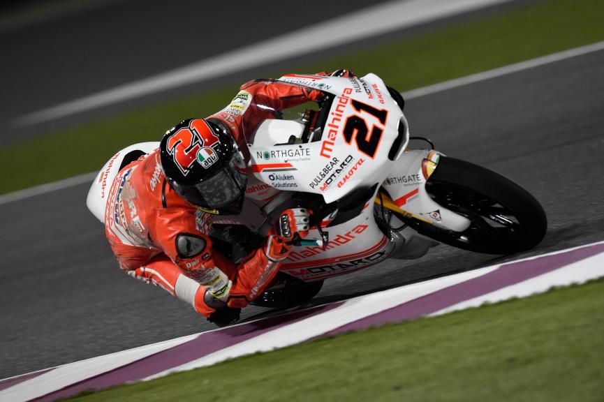 Francesco Bagnaia, Aspar Team Moto3, Qatar Moto2-Moto3 Official Test