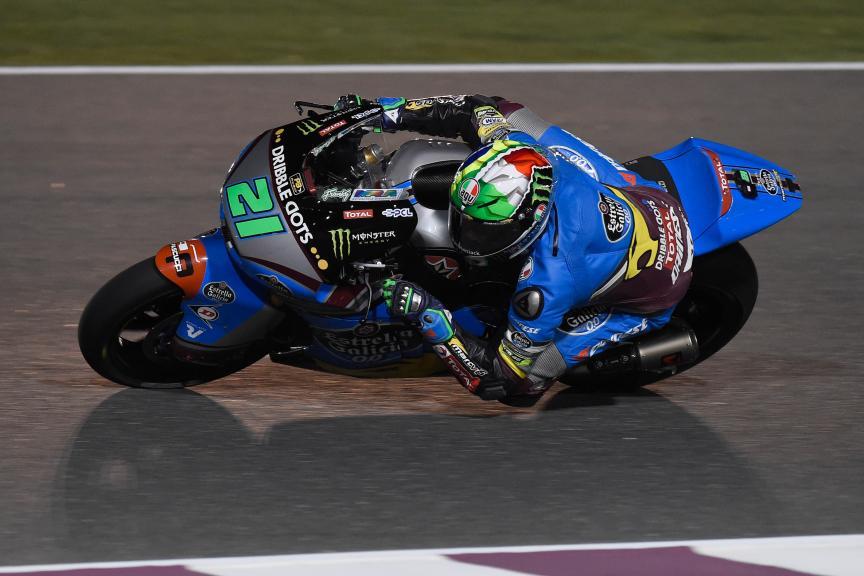 Franco Morbidelli, Estrella Galicia 0,0 Marc Vds, Qatar Moto2-Moto3 Official Test