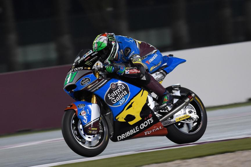 Franco Morbidelli, Estrella Galicia 0,0 Marc Vds, Qatar Moto2-Moto3 Official Test