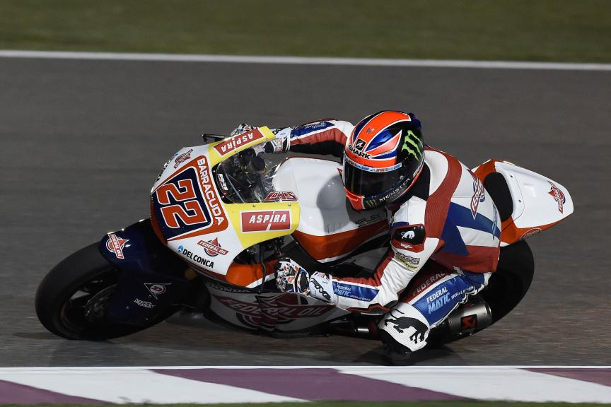 Sam Lowes, Federal Oil Gresini Moto 2, Qatar Moto2-Moto3 Official Test