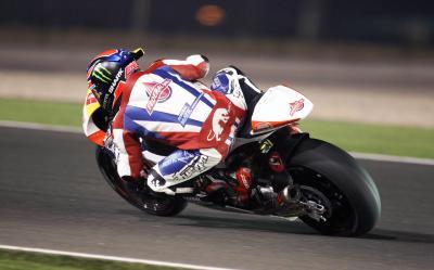 Lowes, zampata finale e primato nei test in Qatar