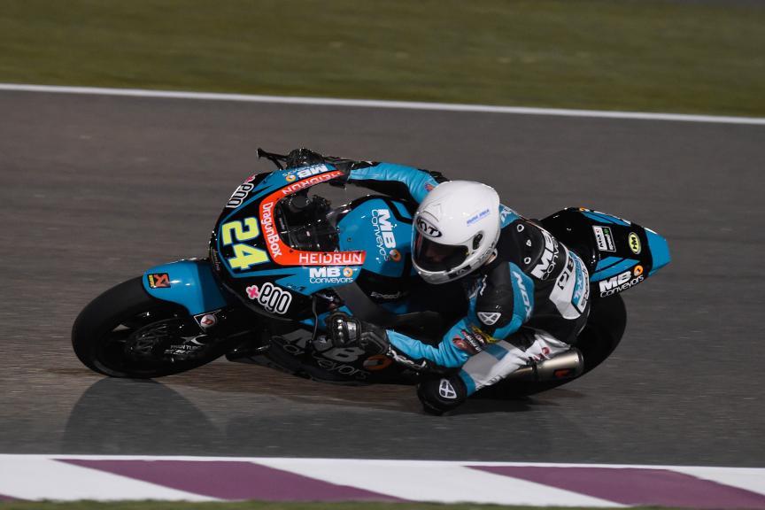 Simone Corsi, Speed Up Racing, Qatar Moto2-Moto3 Official Test