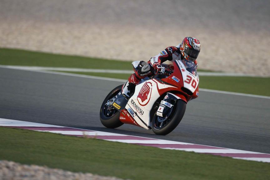 Takaaki Nakagami, Idemitsu Honda Team Asia, Qatar Moto2-Moto3 Official Test