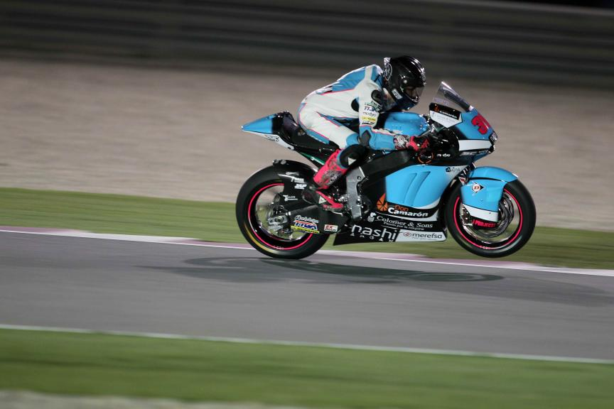 Luis Salom, Qatar Moto2-Moto3 Official Test