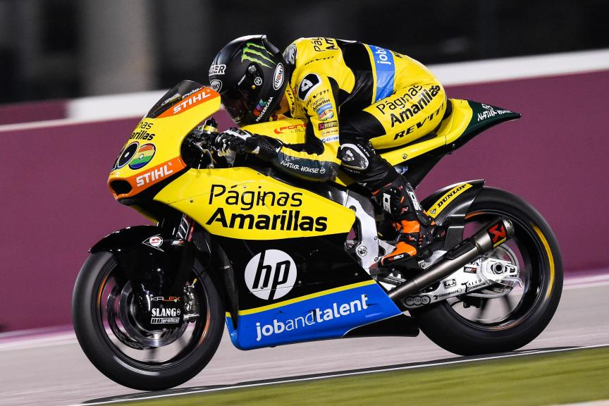 Alex Rins, Paginas Amarillas Hp 40, Qatar Moto2 - Moto3 Official Test