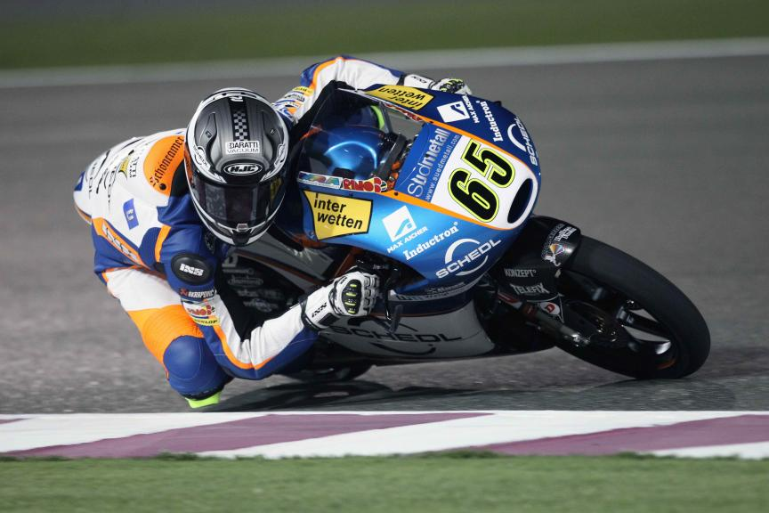 Philipp Oettl, Schedl Gp Racing, Qatar Moto2-Moto3 Official Test