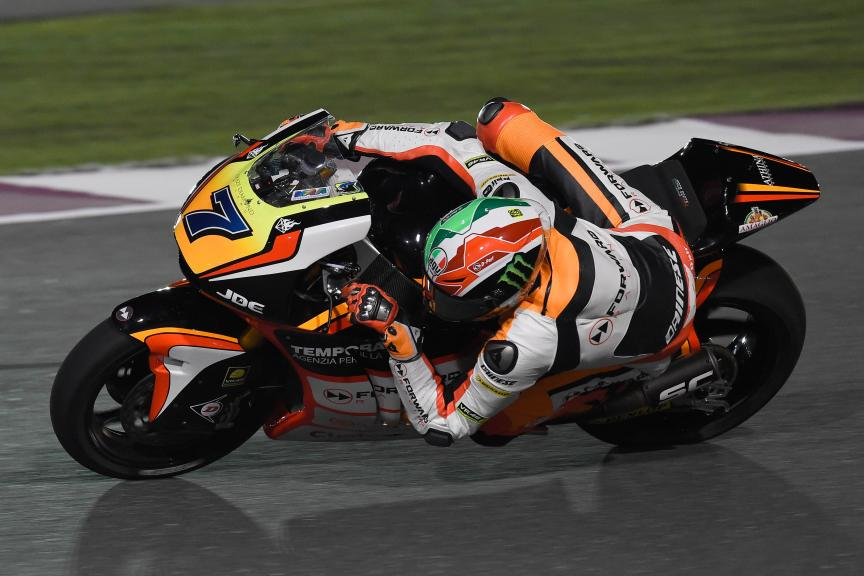 Lorenzo Baldassarri, Forward Team, Qatar Moto2-Moto3 Official Test