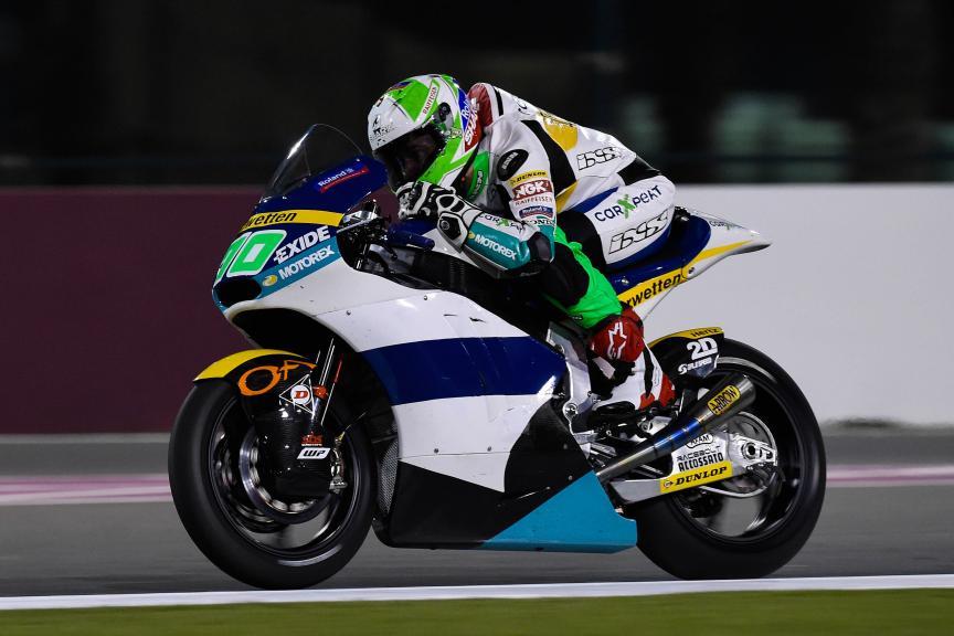 Robin Mulhauser, Carxpert Interwetten, Qatar Moto2-Moto3 Official Test