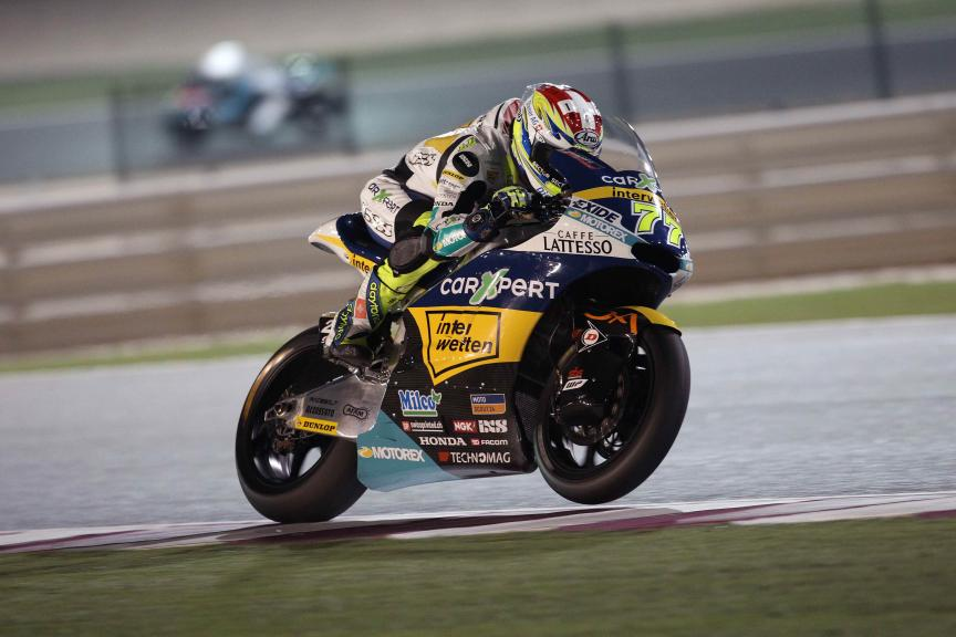 Dominique Aegerter, Carxpert Interwetten, Qatar Moto2-Moto3 Official Test