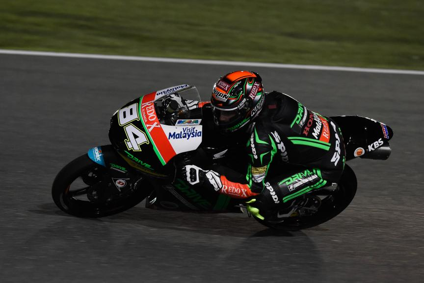 Jakub Kornfeil, Drive M7 Sic Racing Team, Qatar Moto2-Moto3 Official Test