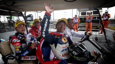 Somkiat Chantra wins second race in Buriram