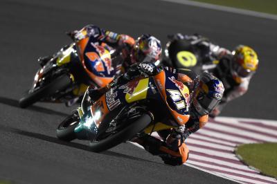 Comienza el Campeonato del Mundo de Moto3™ en Qatar