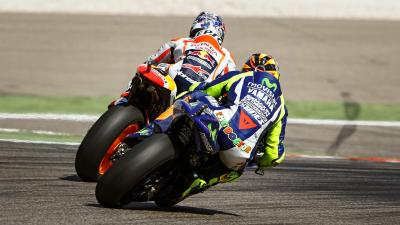 #QatarCountdown: Rossi vs. Pedrosa in Aragon