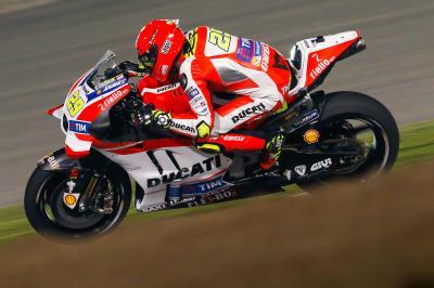 Iannone: «Es sólo el principio con la moto nueva»